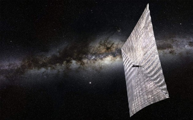 미국의 비영리 과학단체 '행성협회(The Planetary Society)'가 개발 중인 라이트세일 2. - 행성협회 제공